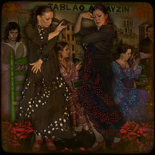 FLAMENCO... love-rivalry in dance of passion. | by egold.