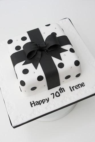 Irene S 70th Birthday Cake 2 Cake Number Two For Irene
