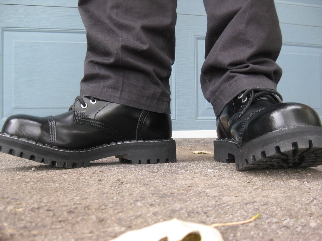 Steel Ranger Boots 15 Hole Bought Them At Rio On St