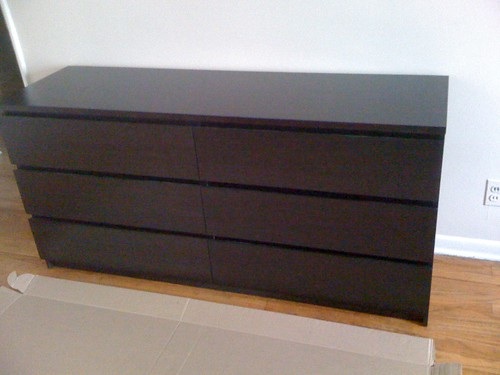 Ikea malm 6 drawer completed if you follow the steps for Will ikea assemble furniture
