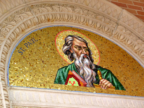 St. Paul, mosaic at Malbis Memorial Church, Malbis, Alabama | by Paul McClure DC
