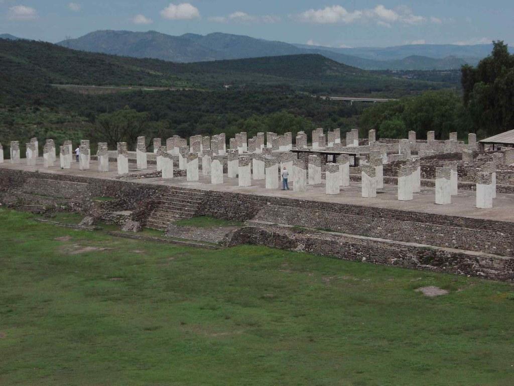 Tula Hidalgo Mexico Ruinas Ruins Tula Hidalgo