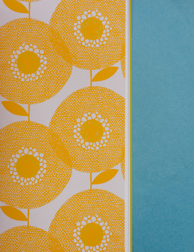 print and pattern nature book: yellow florals