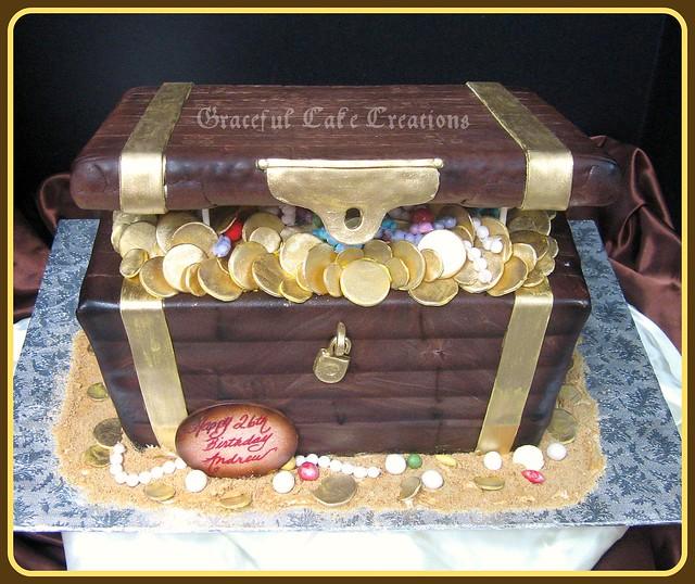 treasure chest birthday cake photo sharing 1 on treasure chest birthday cake photo sharing