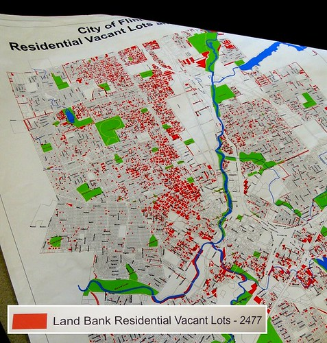Mapping Vacant Lots in Flint | by Wayne-BTV