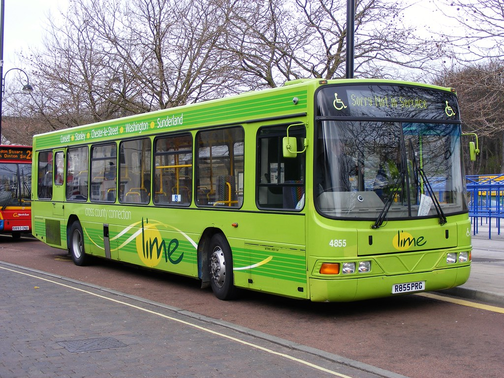 ... Go North East: 4855 R855PRG Volvo B10BLE/Wright | by emdjt42