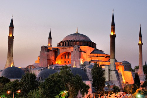 Hagia Sophia, Istanbul at dusk | by David Spender