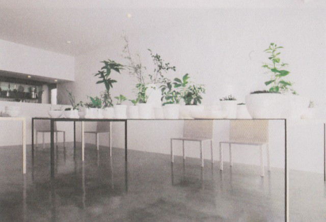 Tables for a restaurant by junya ishigami by packing light