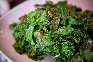 Balsamic Sauteed Mustard Greens with Garlic | by swellvegan