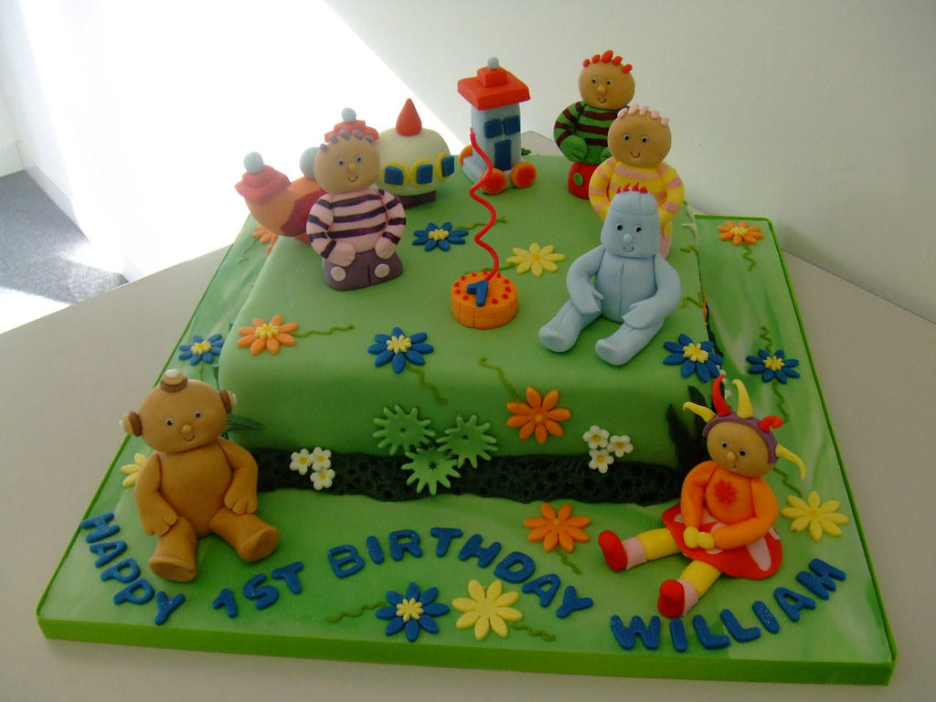 in the night garden by cake chester - Garden Design Birthday Cake