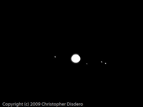 jupiter and its moons with white back - photo #40