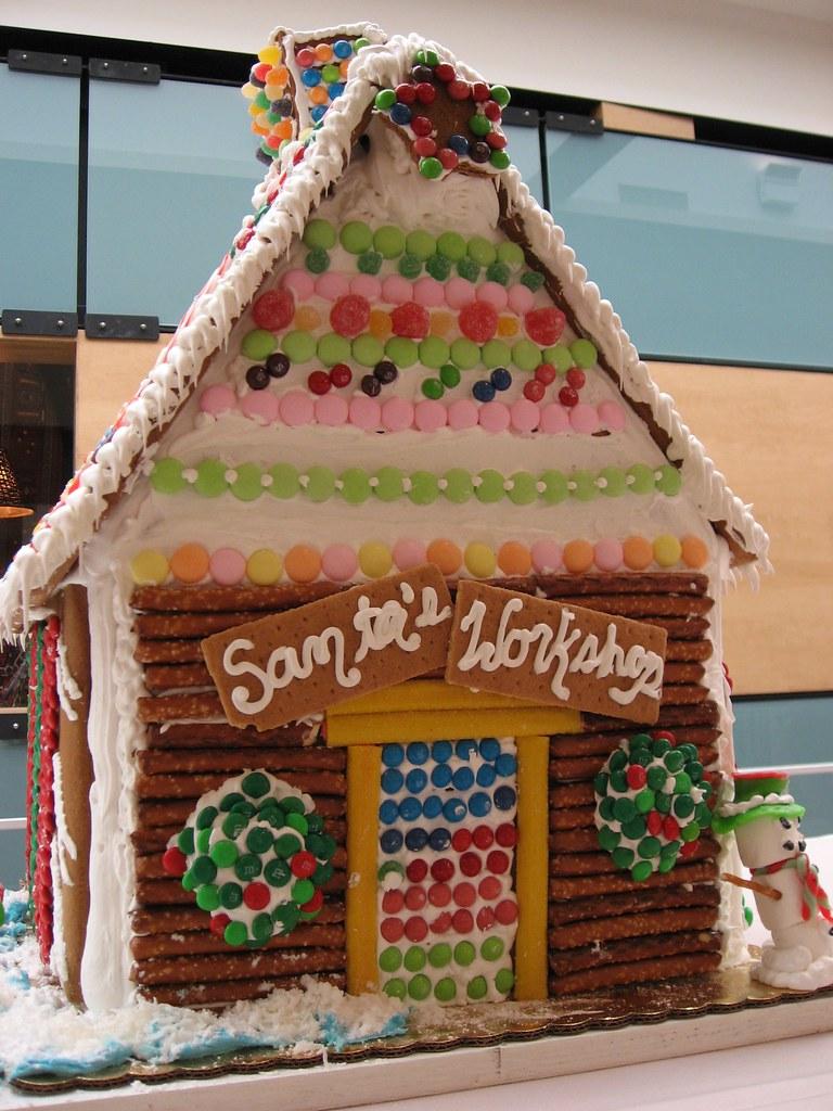 Gingerbread House Santa S Workshop Beautifulcataya