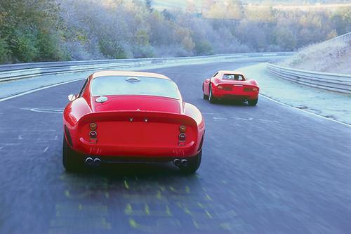Ferrari 250 gto lm christmas cards michael ward flickr for Ferrari christmas