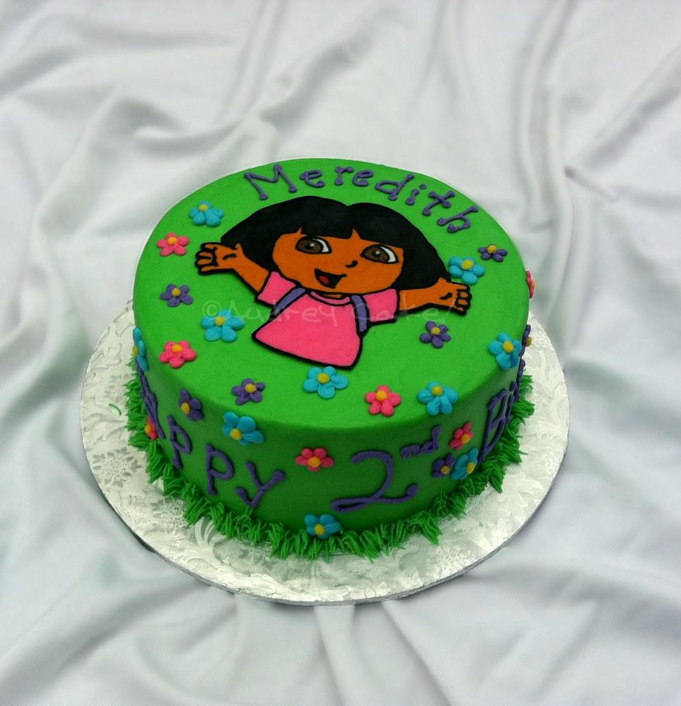 Cake Design Dora L Exploratrice : Dora Birthday Cake Dora celebrates the birthday girl ...