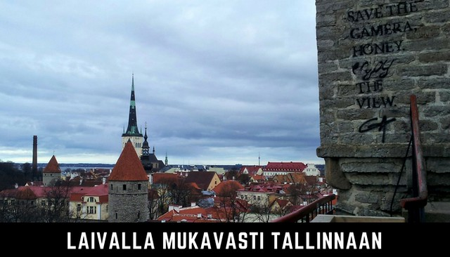 Laivalla mukavasti Tallinnaan