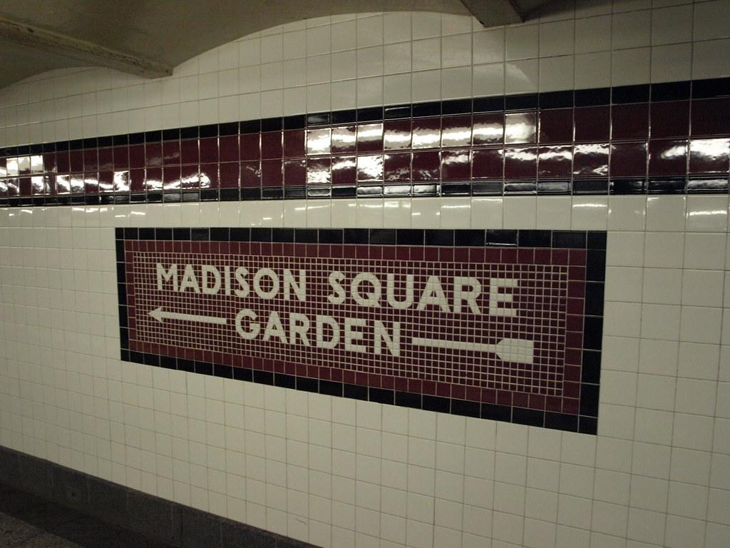 Madison square garden mosaic william f yurasko flickr for Madison square garden employment