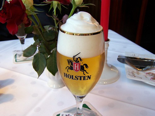 beer hamburg germany an inviting glass of holsten pale l flickr. Black Bedroom Furniture Sets. Home Design Ideas