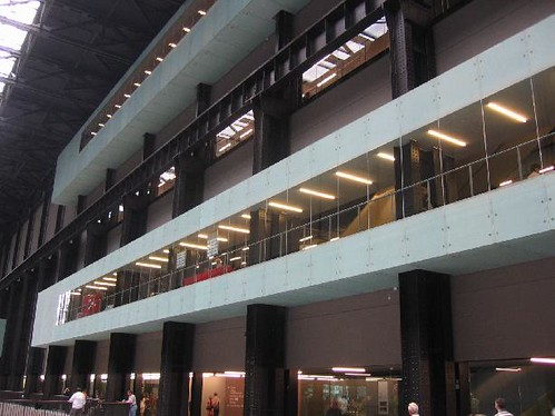 Tate Modern S Interior London Tate Is A Network Of