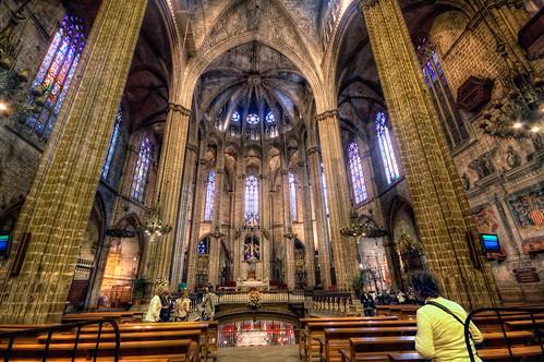 Cathedral of santa eulalia catedral de santa eulalia ba for Catedral de barcelona interior