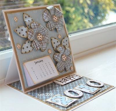 Calendar Easel Card 1 | loved making this calendar easel car… | Flickr