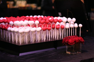 Red Cross Gala Cake Pops | by Sweet Lauren Cakes