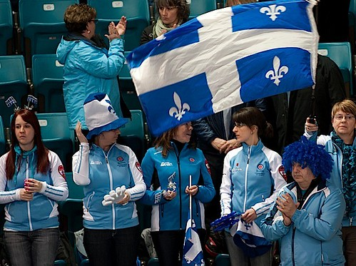 Kamloops B.C.Mar5_2014.Tim Hortons Brier.Quebec Fans.CCA/michael burns photo | by seasonofchampions