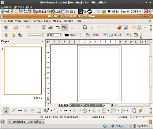 Openoffice Org Draw In Ubuntu This Is Good For Some Publis Flickr