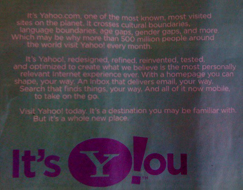 Yahoo WSJ Ad | by search-engine-land