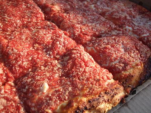 L B Spumoni Gardens Square Pizza