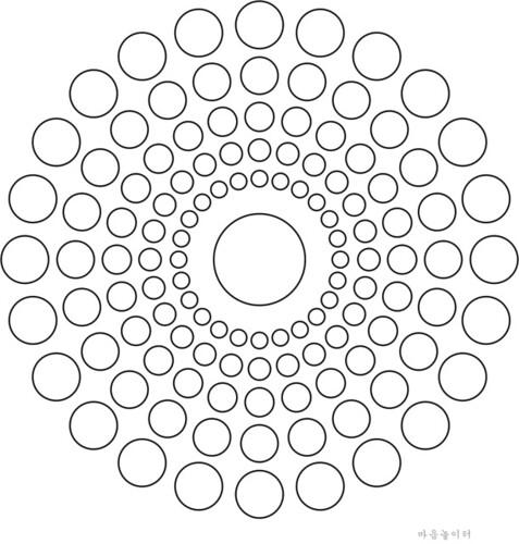 Free Mandala Coloring Design 1