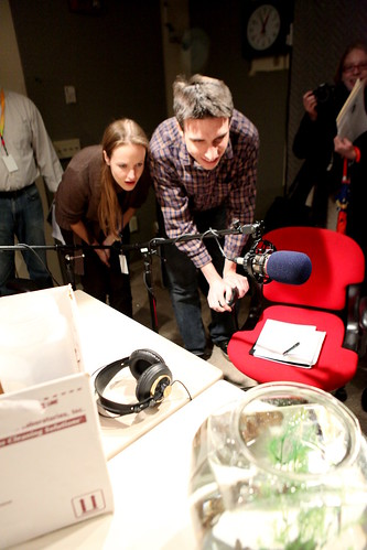 WNPR's Libby Conn & Patrick Skahill, enthralled with seahorses | by WNPR - Connecticut Public Radio
