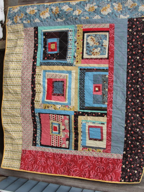 Carousel Quilt Rotated Pattern From Pink Chalk Fabrics Qu Flickr