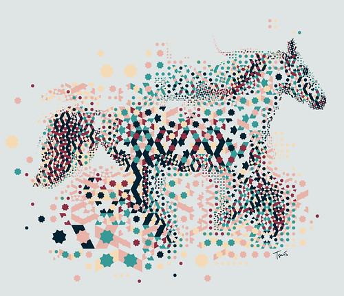 Alhambresque horse | by tsevis