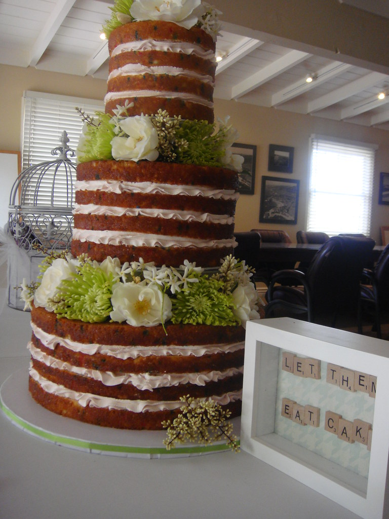 Hilary Duff inspired wedding cake | Bride brought in a pictu… | Flickr