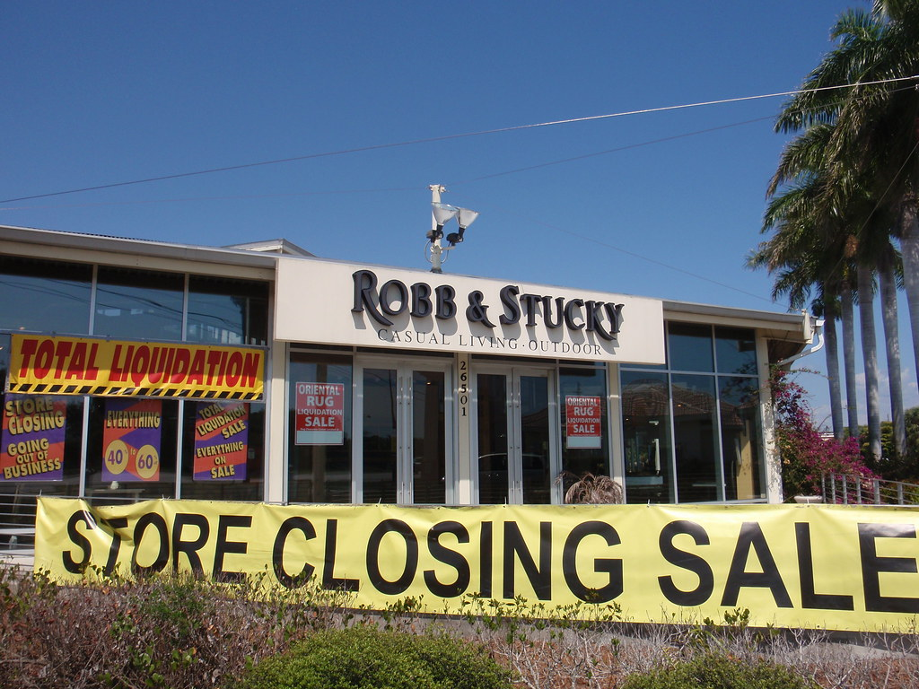 Robb Stucky Store Closing Going Out Of Business Bontina