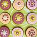 Flower Gingerbread Cookies
