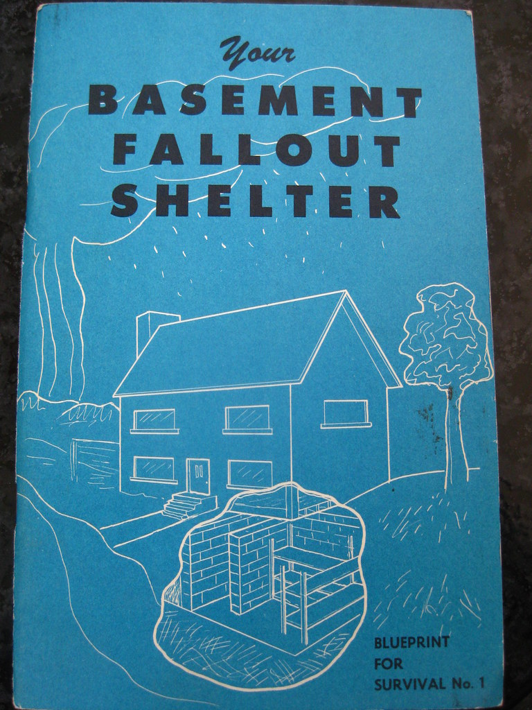 Your fallout shelter blueprint for survival from 1960 i flickr your fallout shelter blueprint for survival by cunning stunt malvernweather Images