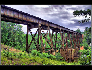 Saluda Dam Rd. - Train Trestle, Side View | by Jerry Spain