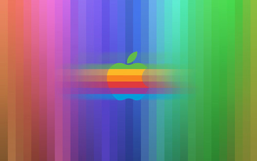 The Full Spectrum Apple Widescreen Wallpaper | by Tiger Pixel