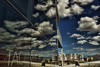 In front of the Tacoma Art Museum, taken during the World Wide Photo Walk 2009 | by Don Briggs
