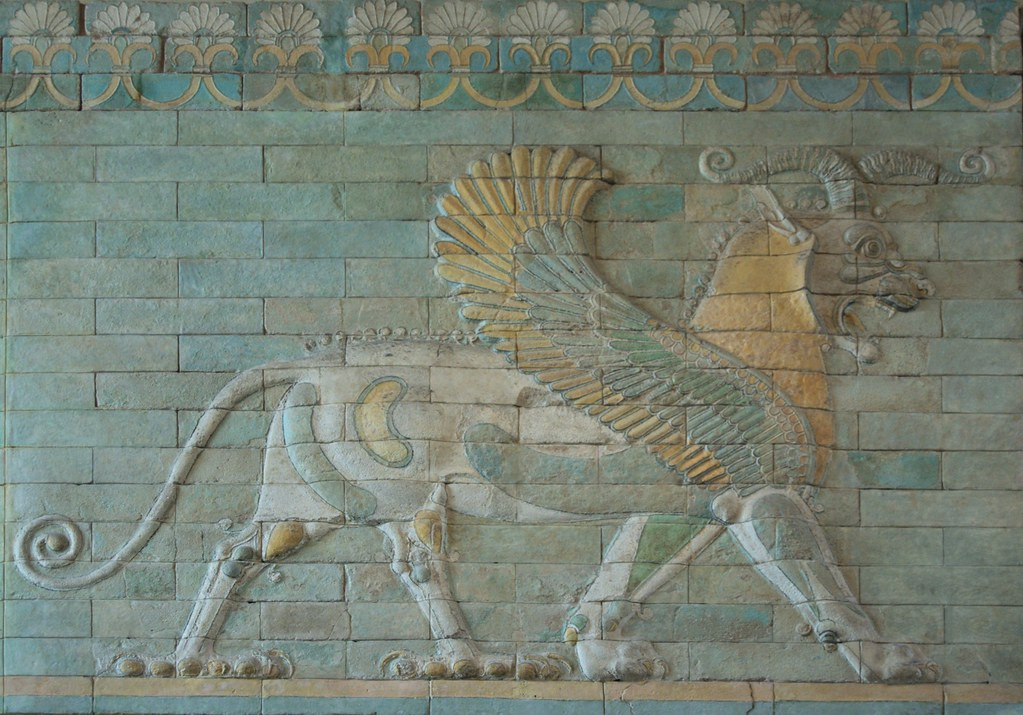 Persian Empire Darius Persian Griffin | Grif...