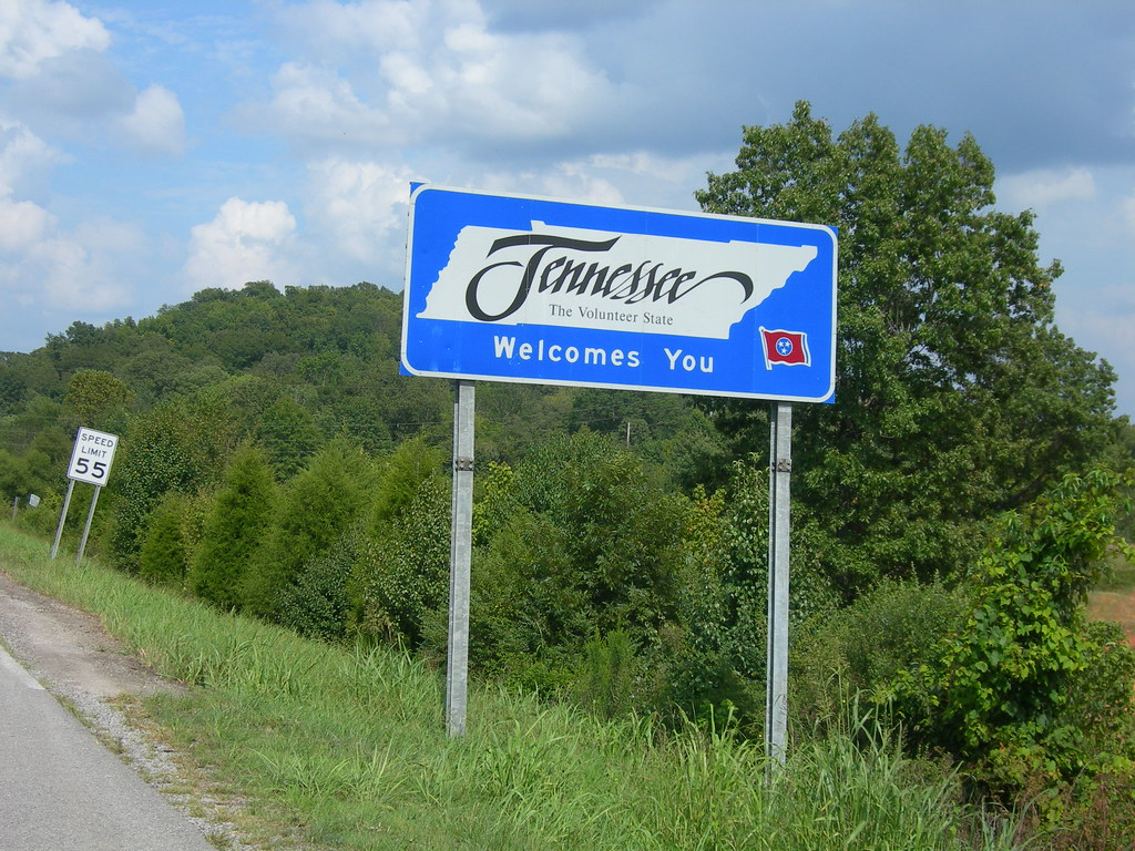 Welcome To Tennessee Us Hwy 72 Between Bridgeport Al And