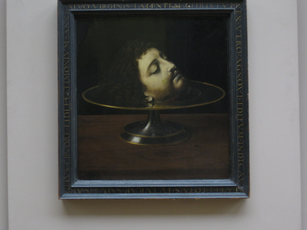 Louvre, head on a plate   Possibly my favorite painting in ...