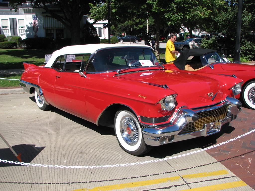 1957 Cadillac Eldorado Biarritz Geognerd Flickr 57 By