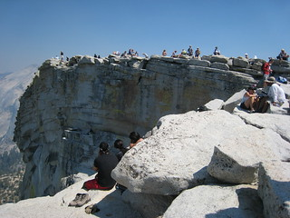Crowds on Half Dome | by chadrwest