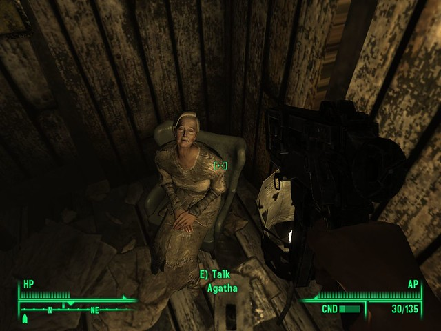 fallout 3 agatha location