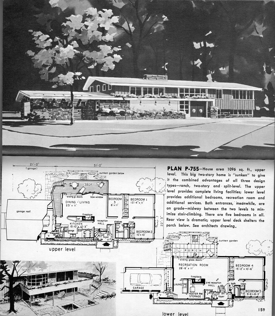 2 storey plan p 755 another hayden homes design 1963 1 for 1960 s home plans