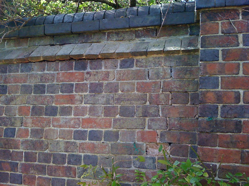 ... English Bond Garden Wall With Brick Capping | By Scays