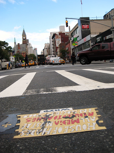 House of Hades Toynbee tile Waverly and 6th Avenue 006 | by Brechtbug