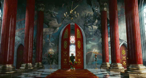 The Mad Hatter Enters The Red Queens Throne Room Queen Of